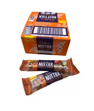 Nuttier Cioccolato e mandorle
